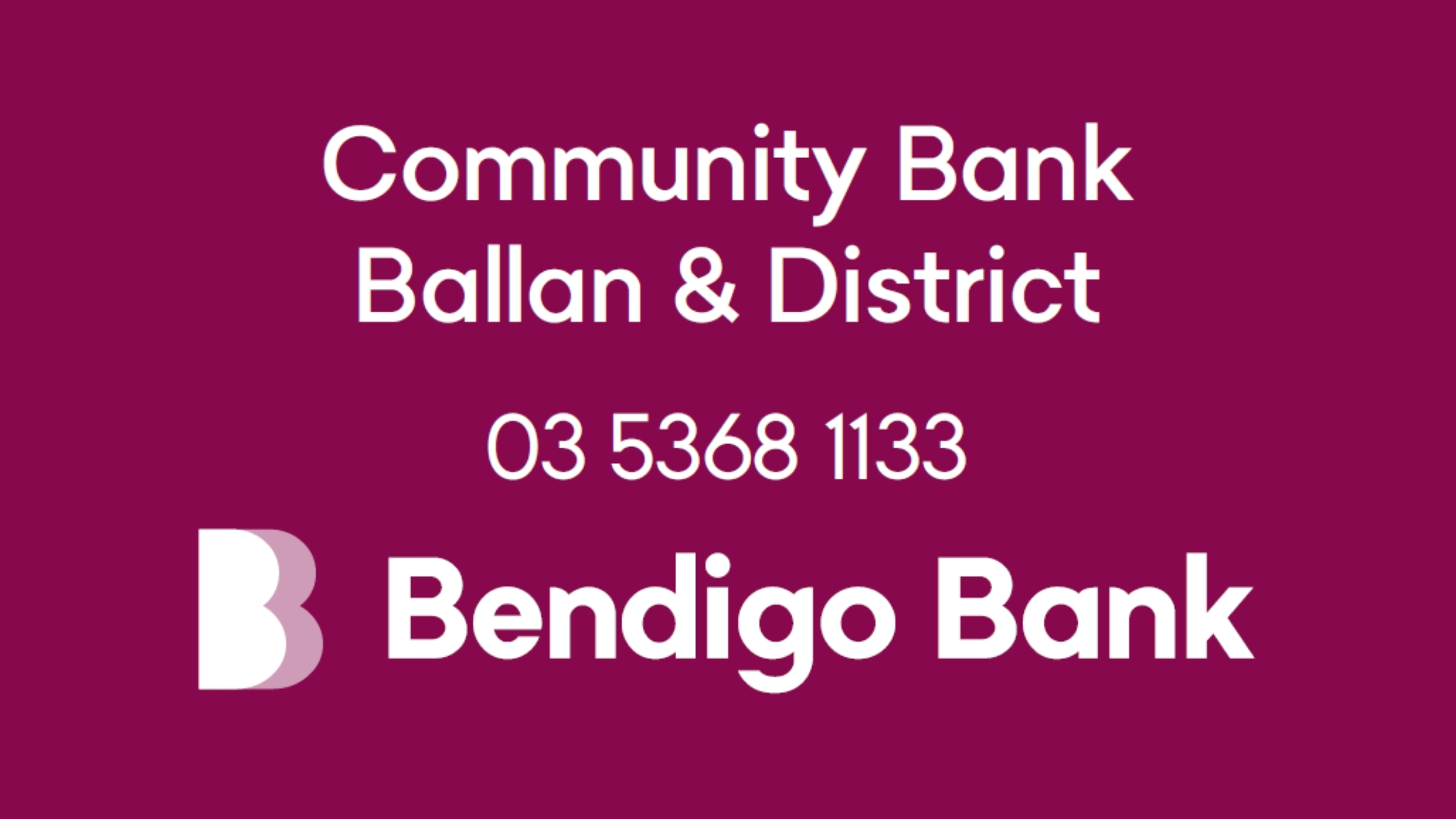 Ballan Bank (Screen)